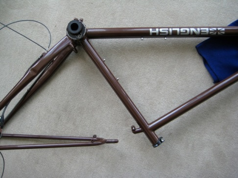 Rear triangle separates from seat tube