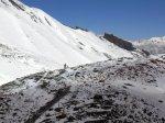 Descending the Thorung La