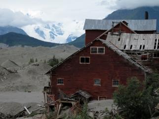 Kennicott mine & Root glacier
