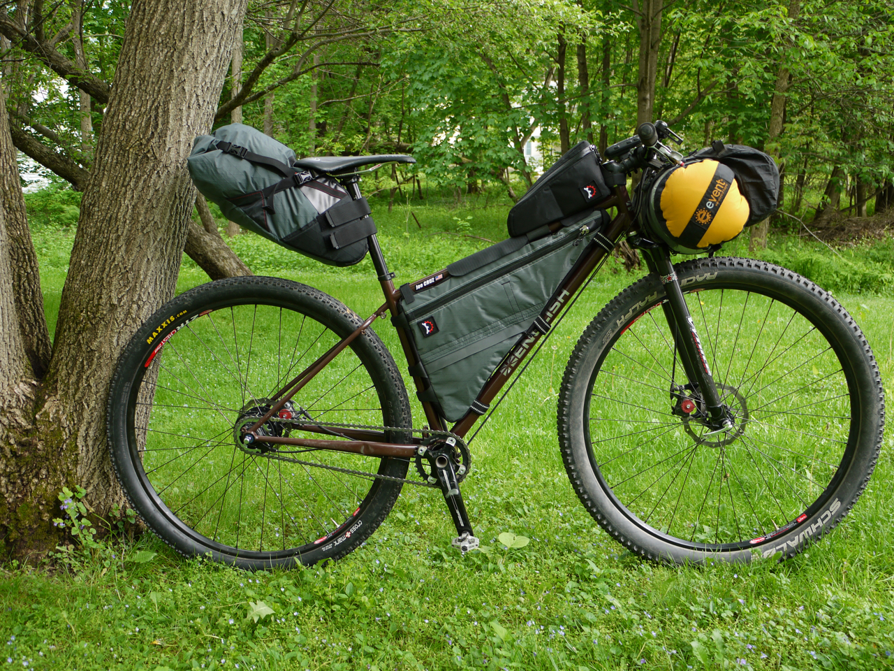 Packing Panniers Tour