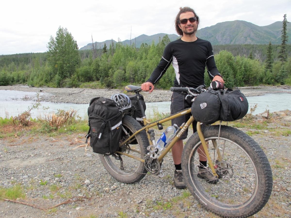 Touring On A Surly Pugsley Joe Cruz